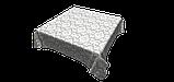 Декоративна тканина вензель сірий з тефлоновим просоченням Туреччина 87840v5, фото 5