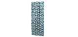 Декоративная ткань вензель бирюзовый с тефлоновой пропиткой Турция 87839v1, фото 3