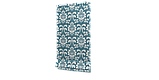 Декоративна тканина вензель бірюзовий з тефлоновим просоченням Туреччина 87839v1, фото 4