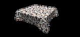 Декоративна тканина коричнева листя з тефлоновим просоченням Туреччина 87860v3, фото 4