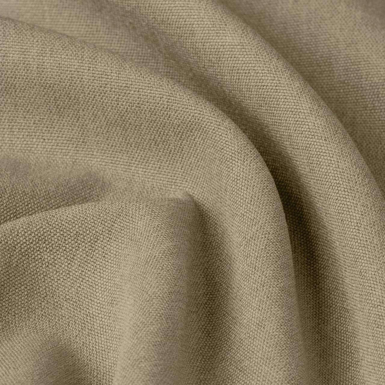 Блекаут рогожка однотонна бежевого кольору Туреччина 85744v3