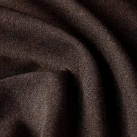 Блэкаут рогожка однотонная коричневая Турция 85756v15