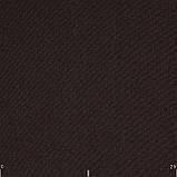 Блэкаут рогожка однотонная коричневая Турция 85756v15, фото 2