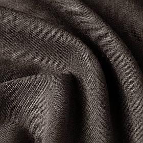 Блэкаут рогожка шоколадного цвета Турция 85757v16