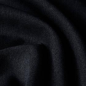 Блэкаут рогожка черного цвета Турция 85762v21