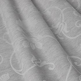 Скатертные ткани для ресторана цветочные узоры на сером 320см 85690v3