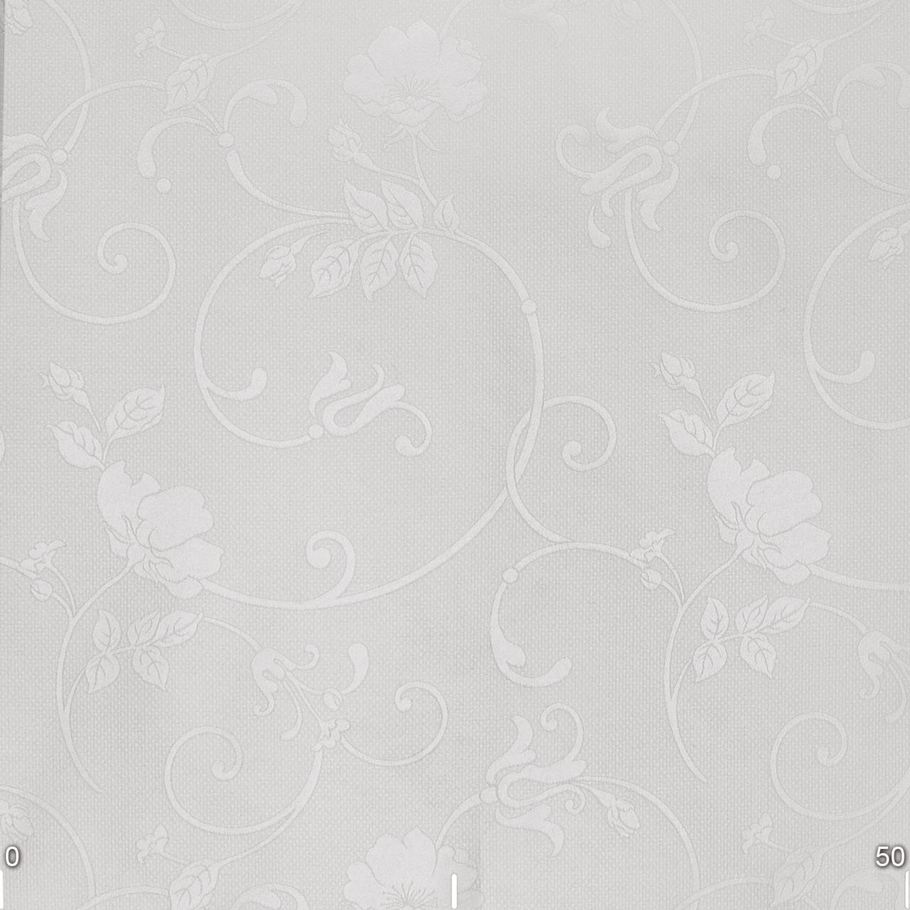 Скатертные тканини для ресторану квіткові візерунки на сірому 320см 85689v2