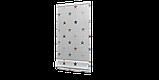 Декоративная ткань с голубыми и красными звездами на белом Турция 85701v4, фото 3