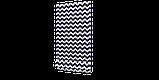 Декоративна тканина в біло-синій зигзаг Туреччина 85734v108, фото 3