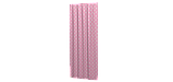 Декоративна тканина з білими зірками на рожевому тлі 180см 85704v6, фото 2