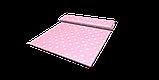 Декоративна тканина з білими зірками на рожевому тлі 180см 85704v6, фото 4
