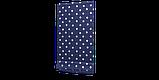 Декоративная ткань с белыми звездами на синем фоне 180см 85706v102, фото 5