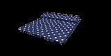 Декоративная ткань с белыми звездами на синем фоне 180см 85706v102, фото 6