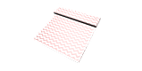 Декоративная ткань в бело-розовый зигзаг Турция 85710v18, фото 6