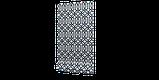 Декоративна тканина синій візерунок на білосніжному тлі Іспанія 280см 84666v1, фото 5