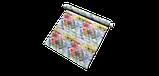 Декоративная ткань с крупными разноцветными ромбами в размытом исполнении Испания 84644v1, фото 7