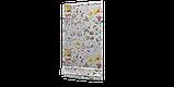 Декоративна тканина з яскравими квітами і метеликами Іспанія 84642v1, фото 8