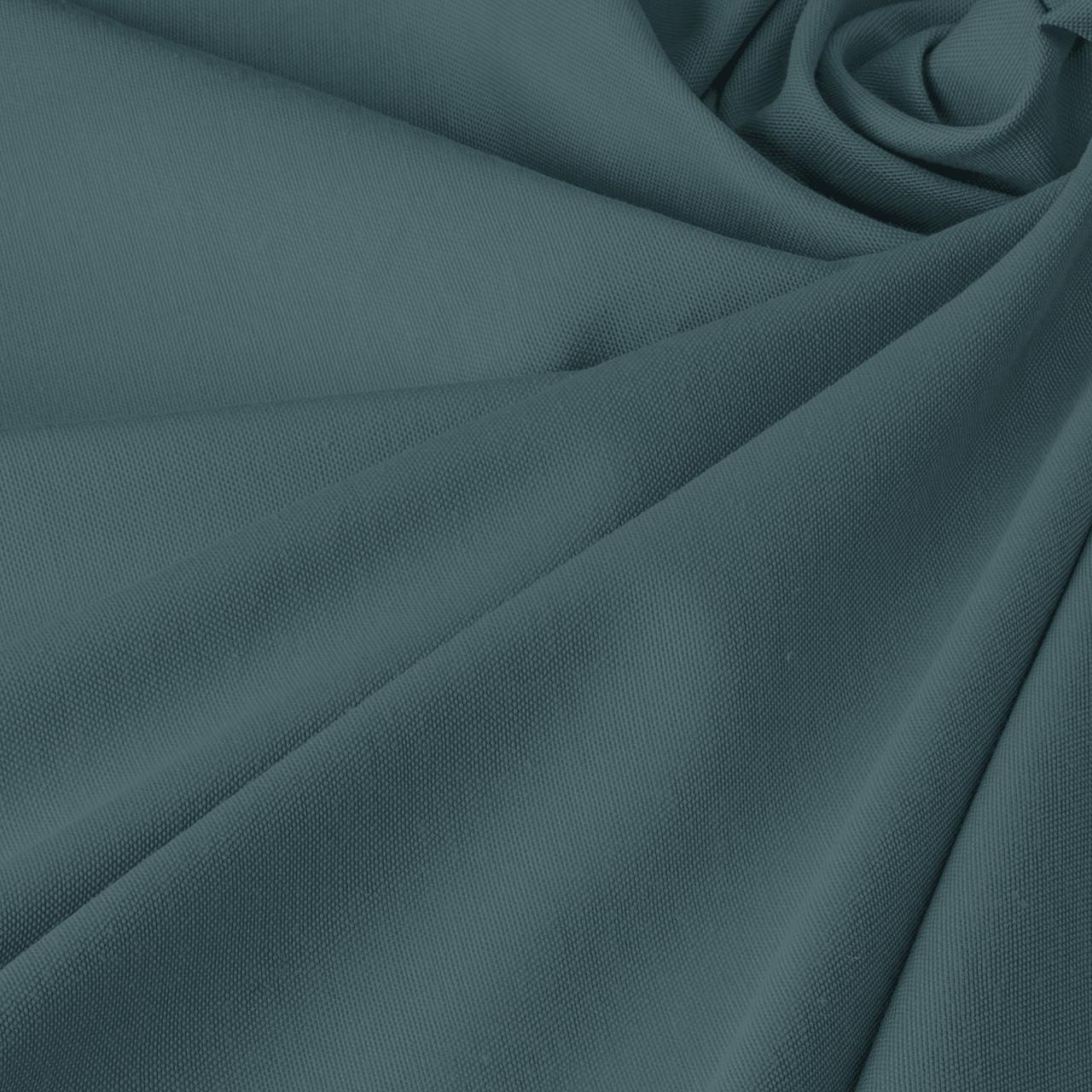 Однотонна декоративна тканина блакитного кольору Туреччина DRM-84600