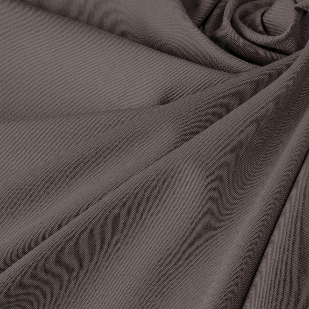 Однотонная декоративная ткань серого цвета с тефлоном Турция DRK-84591