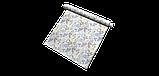 Вулична тканина з великими голубувато-зеленим листям на бежевому фоні Іспанія 84639v4, фото 7