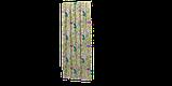 Уличная ткань с крупными желтыми листьями и розовыми бутонами 160см 84638v2, фото 5