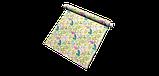 Уличная ткань с крупными желтыми листьями и розовыми бутонами 160см 84638v2, фото 7