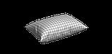 Декоративная ткань в мелкую клетку бело-серого цвета Турция 84582v36, фото 6