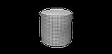 Декоративная ткань в мелкую клетку бело-серого цвета Турция 84582v36, фото 7