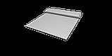 Декоративная ткань в мелкую клетку бело-серого цвета Турция 84582v36, фото 9