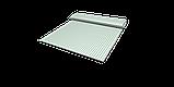 Декоративная ткань в мелкую клетку бело-зеленого цвета 180 см 84579v33, фото 9