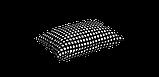 Декоративная ткань в мелкую клетку черно-белая Турция 180 см 84577v31, фото 5
