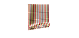 Декоративная ткань в полоску розово-зеленого цвета 180 см 84610v6, фото 4