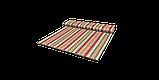 Декоративная ткань в полоску розово-зеленого цвета 180 см 84610v6, фото 9