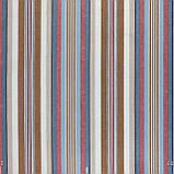 Декоративна тканина в смужку бежево-блакитного кольору з тефлоном 84609v5, фото 2