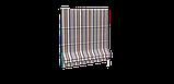 Декоративна тканина в смужку бежево-блакитного кольору з тефлоном 84609v5, фото 4