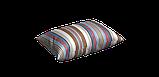 Декоративна тканина в смужку бежево-блакитного кольору з тефлоном 84609v5, фото 6