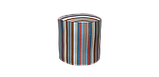 Декоративна тканина в смужку бежево-блакитного кольору з тефлоном 84609v5, фото 7
