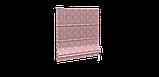 Декоративна тканина білі візерунки на рожевому тлі Туреччина 84584v4, фото 3
