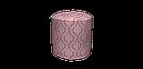 Декоративна тканина білі візерунки на рожевому тлі Туреччина 84584v4, фото 5