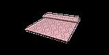Декоративна тканина білі візерунки на рожевому тлі Туреччина 84584v4, фото 7
