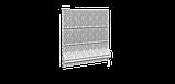 Декоративна тканина білі візерунки на сірому тлі Туреччина 84583v3, фото 3