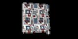 Декоративная ткань с тефлоновой пропиткой морская тематика 84576v3, фото 5
