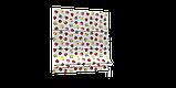 Декоративна тканина різнокольорові яблука 180см Туреччина 84518v8, фото 3