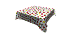 Декоративна тканина різнокольорові яблука 180см Туреччина 84518v8, фото 8
