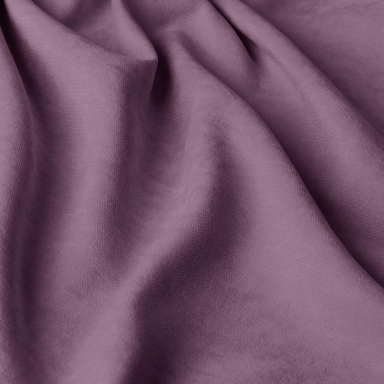 Однотонна декоративна тканина велюр бузкового кольору 84434v45