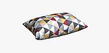 Декоративная ткань с серо-бежевой мозаикой 180см 84484v1, фото 6