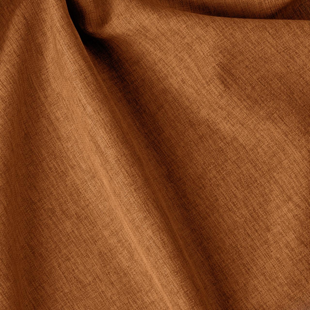 Декоративная однотонная ткань коричневого цвета для штор 84453v10