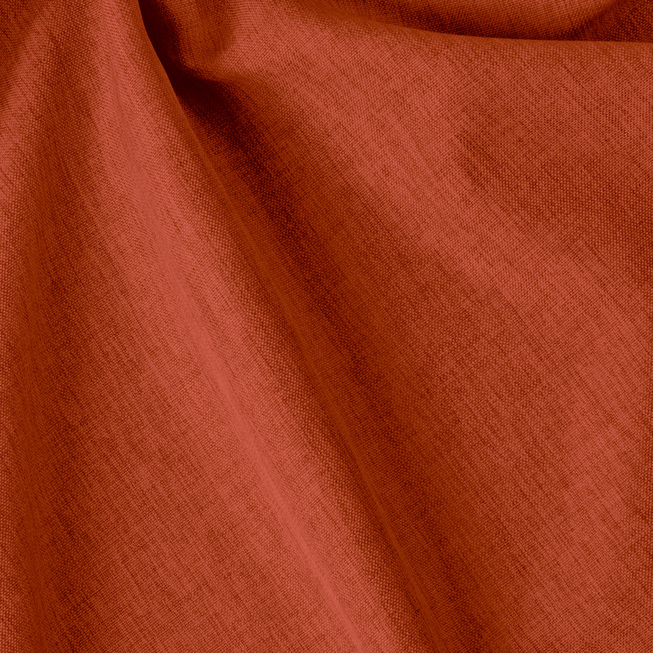Декоративна однотонна тканина оранжевого кольору Туреччина 84454v11