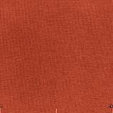 Декоративна однотонна тканина оранжевого кольору Туреччина 84454v11, фото 2