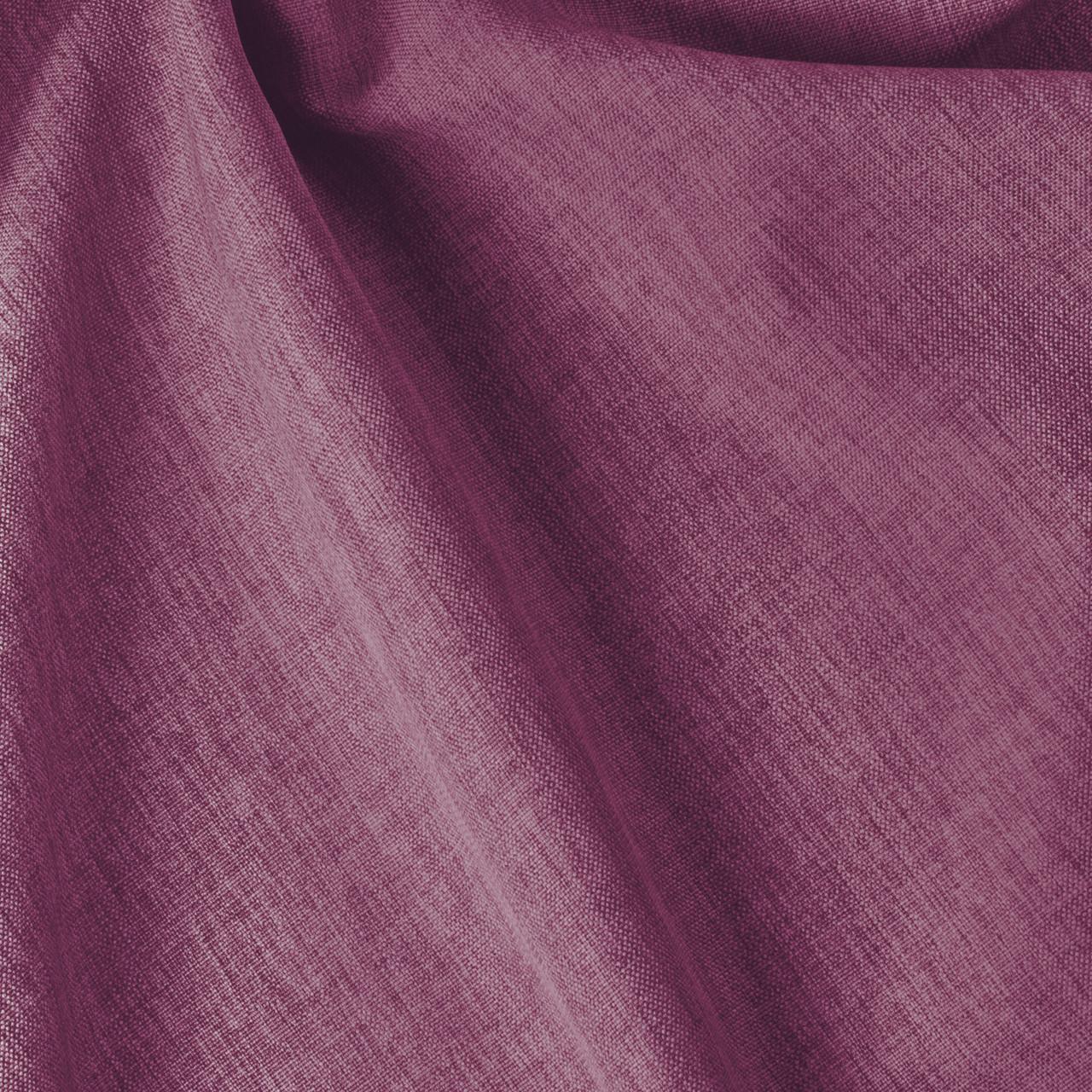 Декоративна однотонна тканина рогожка фіолетового кольору для штор 84459v16